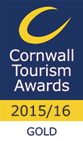 Cornwall Tourism Awards 2015/16 - Gold