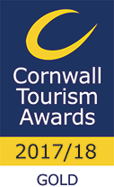 Cornwall Tourism Awards 2017/18 - Gold