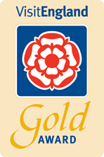 Winner of Visit England Gold Award