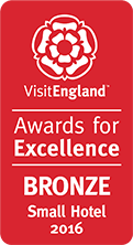 small hotel bronze 2016 - visit england